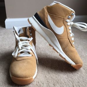 NWT Nike suede high tops
